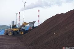 Sektor Energetyczny - formowanie hałdy PKS