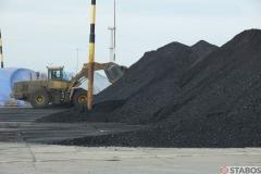 Sektor Handlu Surowcami - formowanie hałdy węgla